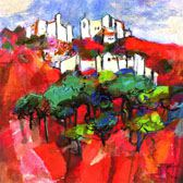 Andalucian Red  (30 x  30 cm)
